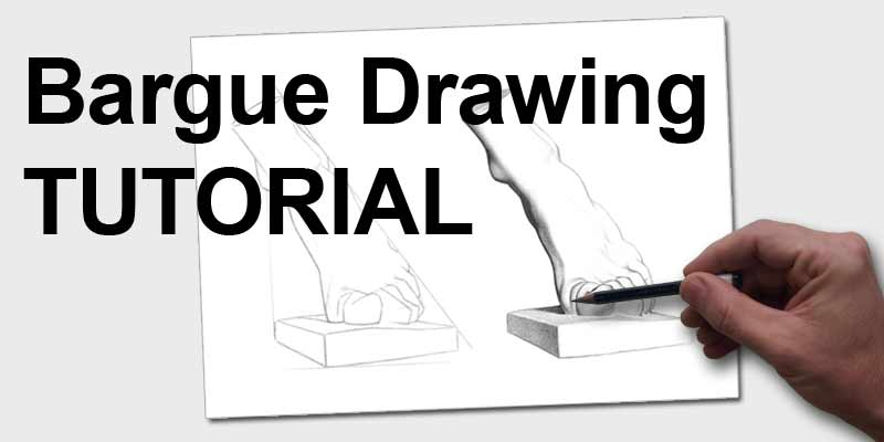 Bargue Drawing Tutorial Banner