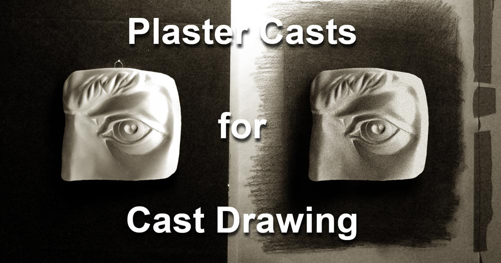 Cast Drawing of David's eye